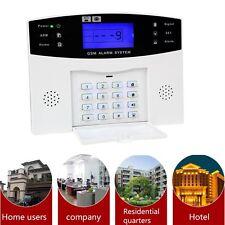 Home Security GSM Alarm System Alarm Host with LCD Call for Intruder Burglar #V