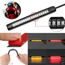 Flexible 18 LED Motorcycle ATV Tail Brake Stop Turn Signal Strip Light Universal