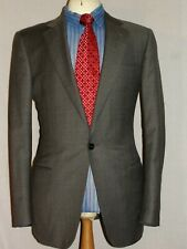 MEN'S DUNHILL LONDON HANDSTITCHED PINSTRIPE DESIGNER SUIT JACKET UK40R