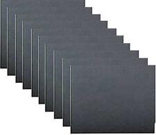 10 Pack Wet & Dry Abrasive Sandpaper Sheets 1500 Grade