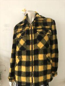 Cougar Men Wool Jacket/ NWOT/ Size S/ Made In NZ