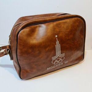 Vintage Original Mockba 80 Olympics Moscow 1980 Sports Bag