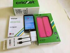 LG Spree Smartphone Cricket Black Android Phone