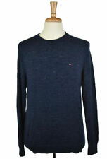 Tommy Hilfiger Men Sweaters Pullovers MED Blue N/A