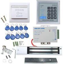 AGPtEK RFID Door Access Control System Kit Home Security System 110-240V 10 Key