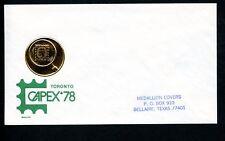 LOT 66219 CANADA COVER STAMP EVENTS PHILATELIC EXHIBITION CAPEX '78