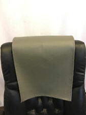 "Recliner 14"" x 30"" Camel Champion Head Rest Cover Vinyl Sofa seat Chaise"