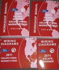 Manuales de reparación y servicios Marina Ford