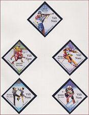 VIETNAM N°1269/1273** JO Albertville 1992, Vietnam 2324-2328 Olympic Games MNH
