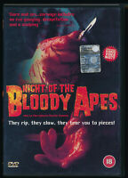 EBOND Night Of The Bloody Apes DVD UK EDITION D522009