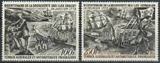 French Southern Antarctic Territories Stamp - Discovery of Crozet Islands - NH