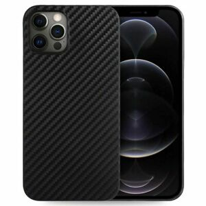Coque Silicone TPU Fibre de Carbone Noir iPhone 13 mini 13 Pro Max 12 XR XS 8 SE