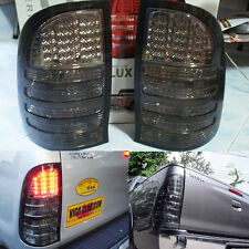 Smoke Led Rear Tail Light Tail Lamp Toyota Hilux Vigo Sr5 Mk6 05-12 Ute 4WD 2WD