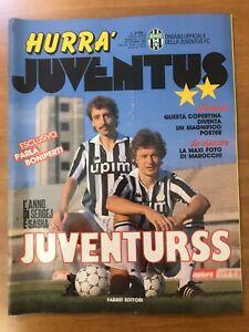 Hurrà Juventus n.11/1989 Russi Alejnikov e Zavarov, Schillaci c/Poster Nuovo! ▓