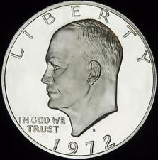 1972-S 40% Silver Gem Prf Eisenhower Dollar - White - Value @ CherrypickerCoins