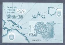 1988 PRUEBA OFICIAL EDIFIL 15A EXFILNA 88 CIUDADELA DE PAMPLONA NAVARRA  TC12124
