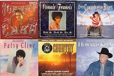 6 x COUNTRY MUSIC CD'S. EXCELLENT CONDITION. UK DISPATCH.