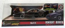 Jada Toys 1:24 Juguete Coche Hollywood Rides Knight Rider K.I.T.T 1982 - Negro (30086)