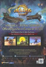 "Allods Online Volume 4 Astral Odyssey ""PC"" 2011 Magazine Advert #4407"