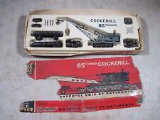 Vintage Jouef Cockerill 85 Tonnes Crane Train Set HO Scale