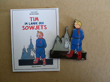 TinTin - Pin.Tim im Lande der Sovjets. Seltener Pin des Comic`s: Tim und Struppi
