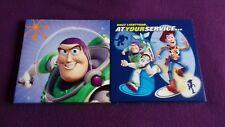 Toy Story Buzz Y Woody Pared Arte Raro 10 Pulgadas x 10 Pulgadas Muy Buen Estado