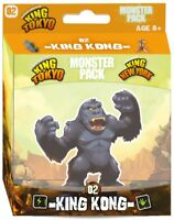 King Kong Monster Pack #2 King Of New York & Tokyo Game Expansion Iello IEL51421