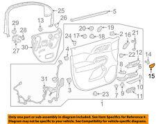 GM OEM Front Door-Handle, Inside Cap Left 23337334