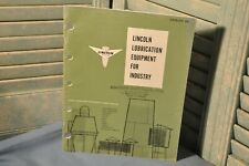 Vintage 1975 Lincoln Lubrication Equipment Industry Catalog 66 Illustrated