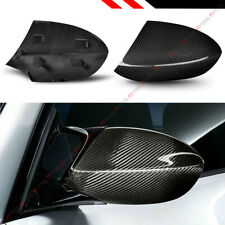 FOR 07-13 BMW E90 E92 E93 M3 FULL DRY CARBON FIBER REPLACEMENT SIDE MIRROR COVER