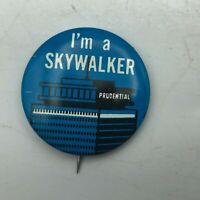"Vintage I'm A Skywalker Prudential 1-1/4"" Button Pin Pinback Advertising   F2"
