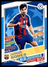 Match Attax Champions League 16/17 André Gomes Barcelona No. FCB13