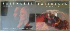 Faithless : We Come 1 + Tarantula CD Singles x2