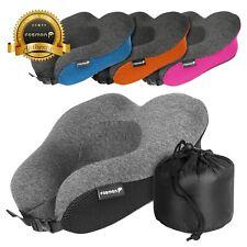 Memory Foam Travel Pillow Neck Support Head Rest Car Plane Soft Cushion U Shaped