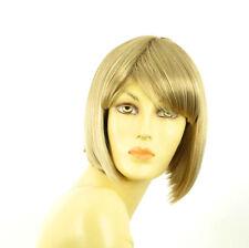 Parrucca donna corta bindo chiaro mechato biondo molto chiaro  MAIA 15T613