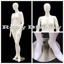 Female Plus Size Egg Head Mannequin Dress Form Display #Md-Nancyw2S