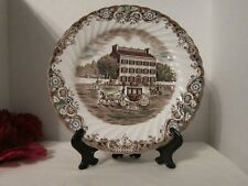 """Johnson Brothers HERITAGE HALL Ironstone French Provincial 8"""" Salad Plate #4411"""