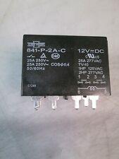841-P-2A-C 12VDC Song Chuan High Power Relay 25A 250VAC 6 Pins *US SELLER*