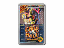CRUE BALL HEAVY METAL PINBALL Sega Megadrive Game Cover Art Fridge Magnet