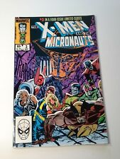 X-Men and the Micronauts  #3 in a 4 Issue Limited Series March 1984