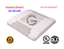 150W LED Canopy Light 5000K drop lens Gas Station UL, DLC  US Seller!!!