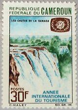 CAMEROUN KAMERUN 1967 518 470 Sanaga Water Falls Wasserfall Intl. Tourism Y. MNH