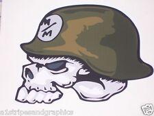 """Metal Mulisha Skull HOOD 25"""" X 24"""" Window Decal Decals Tahoe durango Suburban LT"""