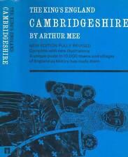 TRAVELOGUE THE KING'S ENGLAND CAMBRIDGESHIRE ARTHUR MEE H/C D/J 1965