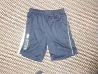 "Errea Small Mens 28/30"" Waist Blue Football Sports Shorts"
