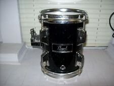 "Pearl 6"" Mounted Tom, Gloss Black with Maple Shell. Free Shipping!"