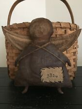 Very Primitive 1824 Doll Shelf Sitter