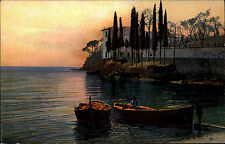 Riviera di Levante Italien Italia Ligurien AK 1917 San Michele Küste Meer Mare