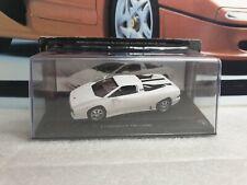 ixo / altaya - 1988 LAMBORGHINI  P140 - WHITE - 1/43 SCALE MODEL CAR