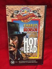 Hot Lead VHS Video Tape Gun Smokin Western Classics Charles Bronson
